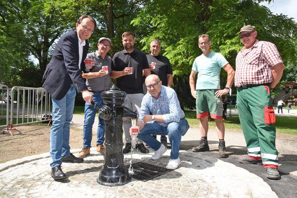 St. Pölten: 50 Brunnen: Trinkbrunnenoffensive wird nun gestartet