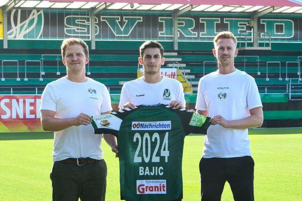 Ante Bajic zur Vertragsverlängerung bei der SV Ried: Das ist mein Zuhause!