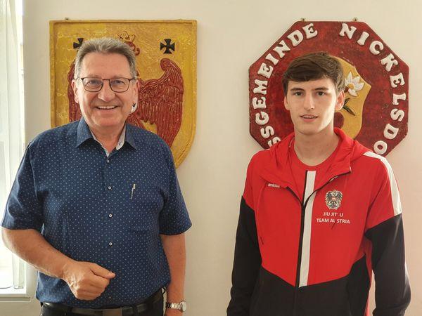 Jiu Jitsu EM 2021: Martin Tremetzberger erfolgreich