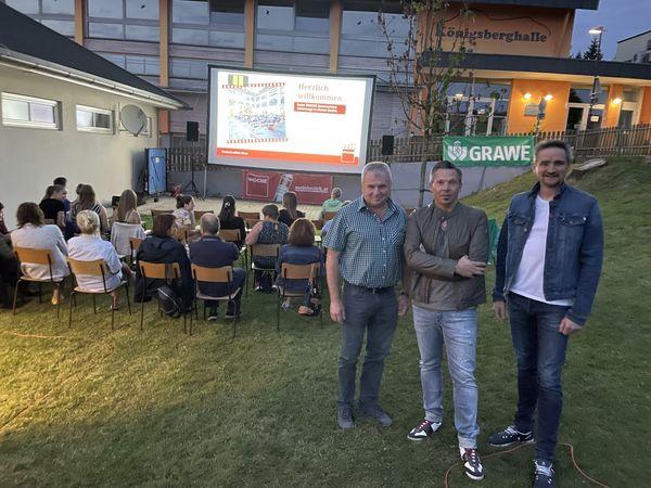 WOCHE-Sommerkino: Die Fete im Tieschener Freibad