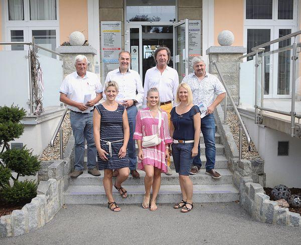 Pinkafeld: Landesrat Schneemann besuchte ehemalige Turbakaserne