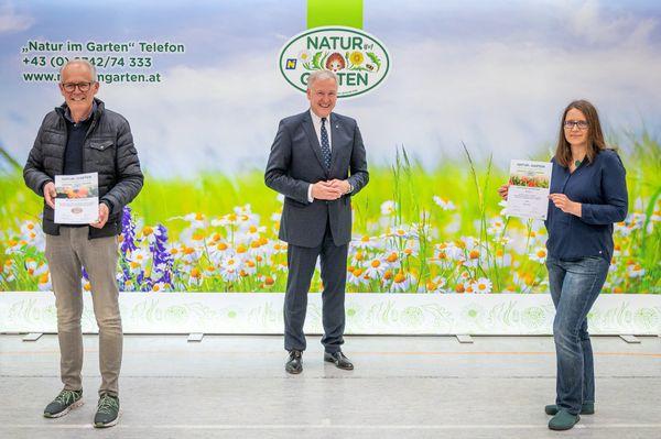 """""""Natur im Garten"""": Gemeinde Absdorf hat größten Zuwachs an Plaketten"""