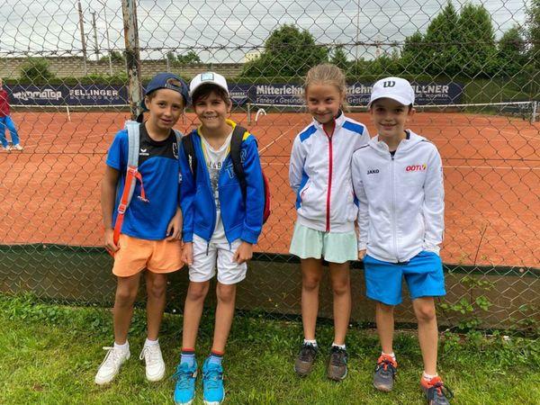 TC Bad Ischl: Junge Tennis-Asse erfolgreich bei Tennis Kids Cup