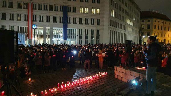 Demo am Dienstag Nehammer absetzen fordert die Junge Generation der SPÖ