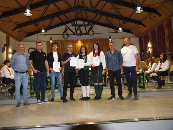 Neue Dirigenten für den Blasmusikverband Leibnitz