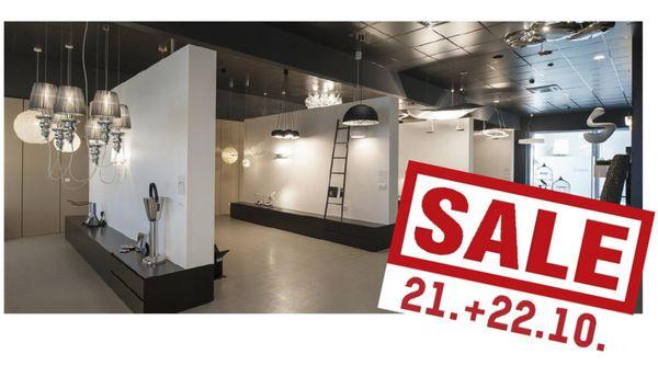 Leuchten zu Top-Preisen!: Großer Schauraumabverkauf bei Molto Luce in Wels am 21. + 22. Oktober
