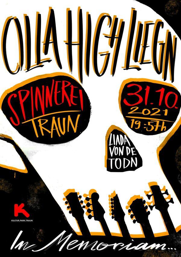 Tribute to Dead Musicians in der Spinnerei Traun:: OllaHighLiegn - das besondere  Allerheiligen - Rockkonzert in Traun