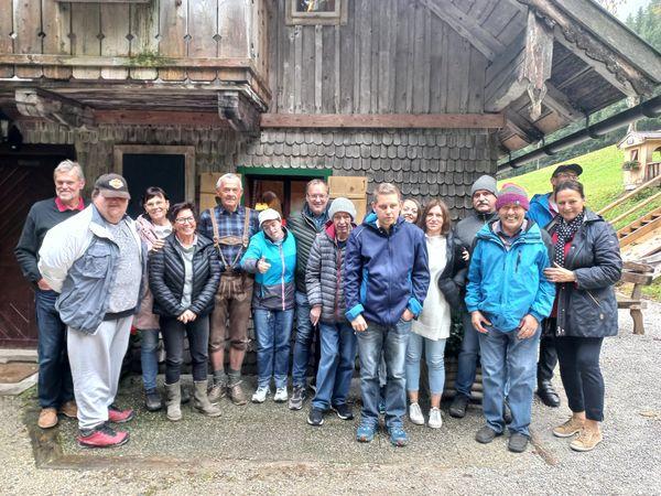 Rotary Club Golling-Tennengau: Almjause mit der Lebenshilfe