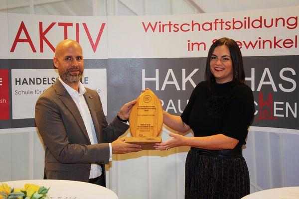 HAK/HAS Frauenkirchen: Zwei Bio-Innovationspreise in der Kategorie Next Generation Bio