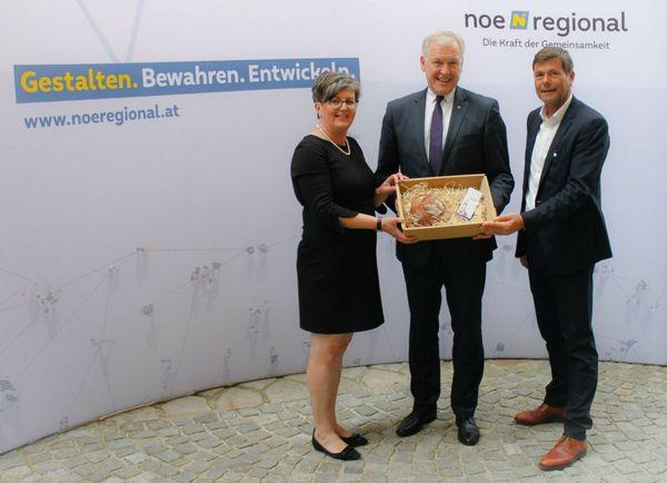 St. Pölten, NÖ.Regional: Neue Zentrale der NÖ.Regional eröffnet