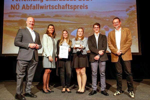 Abfallwirtschaftspreis für Schüler der HLUW Yspertal