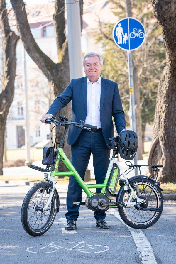 Zwölf Radverkehrs-Millionen für Leoben, Niklasdorf und Proleb