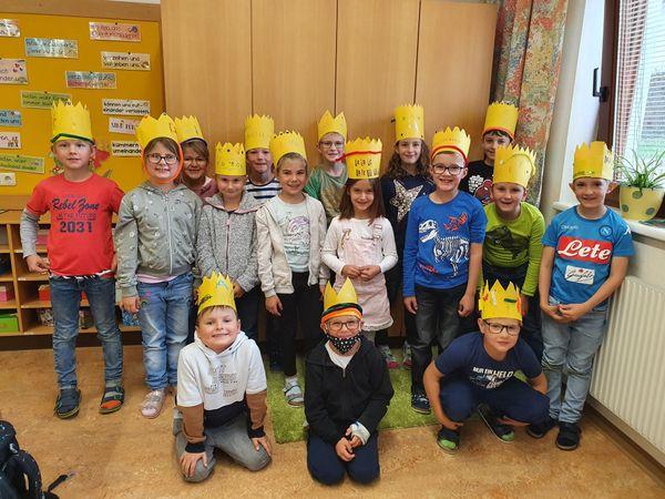 Lernen mit Spaß und Freude: ABC-Fest der 2b-Klasse der Volksschule Lichtenau