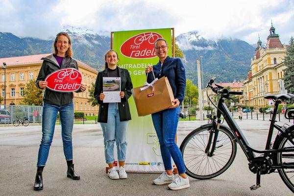 Klimaschutzinitiative: Auch Kufsteinerin gewinnt bei Tirol radelt