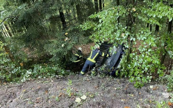 Verkehrsunfall in Münzbach: Junge Autofahrerin kam von der Straße ab