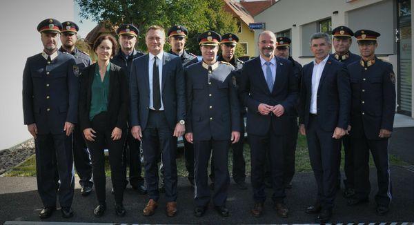 Riegersburg: Den neuen Posten bezogen