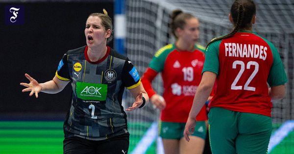 Zweiter Sieg gegen Portugal: Deutsche Handballerinnen lösen WM-Ticket