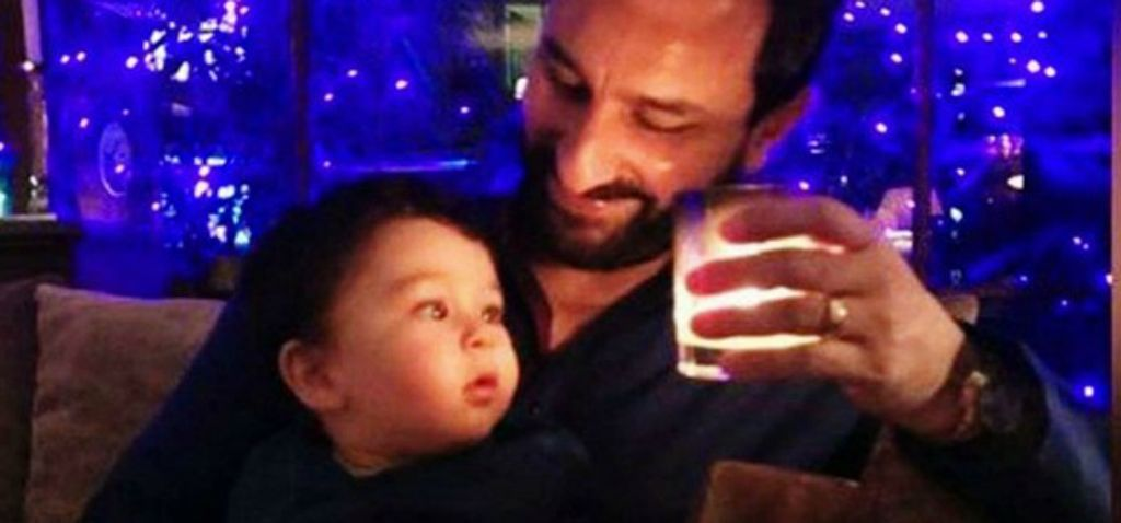 His Highness Taimur Ali Khan Was Spotted In The Cutest Traditionals On Diwali