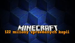 122 miliony kopii Minecraft