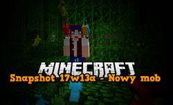 Snapshot 17w13a - Papugi w Minecraft