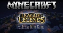 Mini-gra League of Legends Minecraft