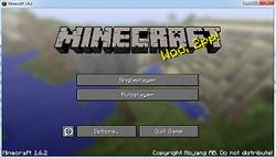 Launcher Minecraft 1.12.2 1.11.2 1.10.2 1.8.8 1.7.2 1.7.10 1.5.2 - Non-Premium