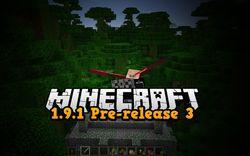 1.9.1 Pre-release 3 Minecraft - Aktualizacja