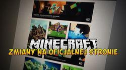 Zmiany na Minecraft.net - Nowy wygląd