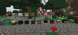 Ultimate Mob Heads - głowy wszystkich potworów i zwierząt