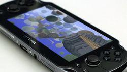 Minecraft na mobilnej konsoli PSVita
