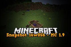 Snapshot 16w05a/b - Minecraft 1.9