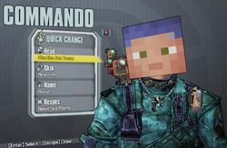 Minecraftowy Easter Egg - Borderlands 2
