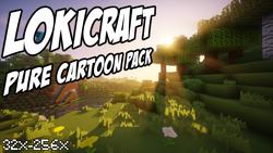 LoKiCraft PureCartoon - kreskówkowa paczka tekstur