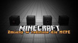Zmiany w redstone - Pocket / Win10