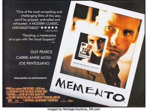 關於記憶與存在意義:Memento
