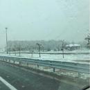 Снег падна над Макарска