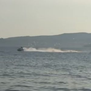 (ВИДЕО) Полициска потера на море: Задарската капетанија го сопре дивеењето на скутерот
