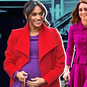 Кралска виолетова: Не е случајно што ја носат Кејт и Меган како Дајана