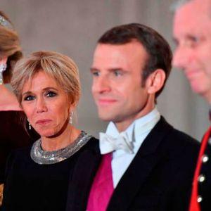 (Фото) Државна посета на Белгија: Брижит Макрон како кралица