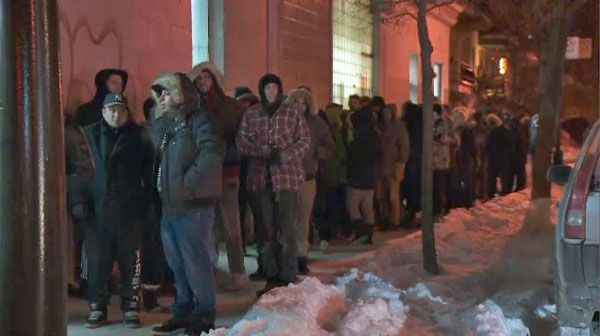 Huge lineups as cannabis chain stores open for business in Montreal
