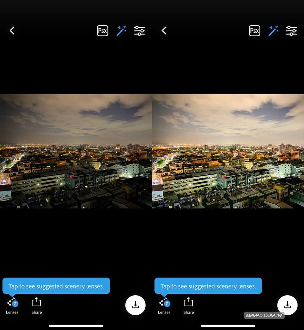 Photoshop Camera – Adobe 官方免费相机应用,超强 AI 智能套用 Instagram 名人滤镜