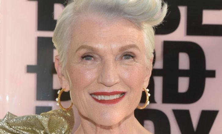 70-летняя модель затмила всех на вечеринке