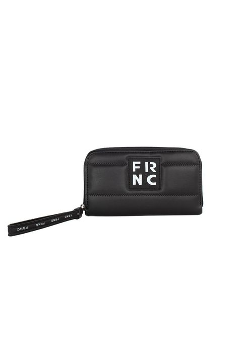 Frnc Γυναικείο Πορτοφόλι Μαύρο WAL005V-BLACK