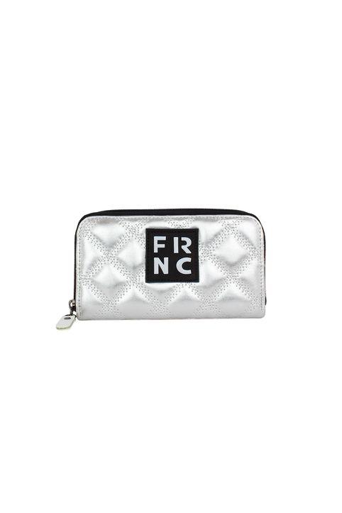 Frnc Γυναικείο Πορτοφόλι Ασημί WAL005K-SILVER