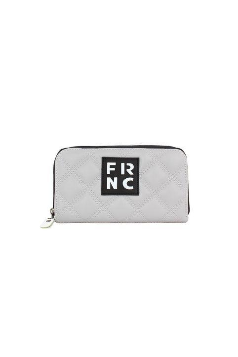 Frnc Γυναικείο Πορτοφόλι Γκρί WAL005K-GREY