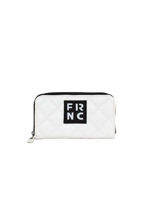 Frnc Γυναικείο Πορτοφόλι Λευκό WAL005K-WHITE