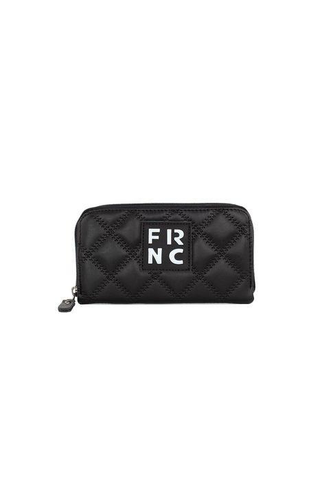 Frnc Γυναικείο Πορτοφόλι Μαύρο WAL005K-BLACK