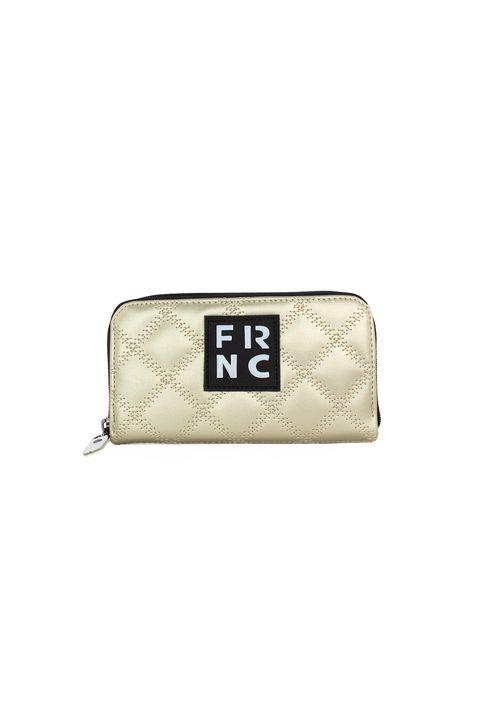 Frnc Γυναικείο Πορτοφόλι Πλατίνα WAL005K-PL
