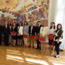 """Претседателот Иванов ги додели стипендиите """"Борис Трајковски"""" за академската 2018/2019"""