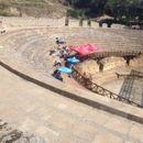 Антички театар во Охрид остана празен за јавната дебата за референдумот